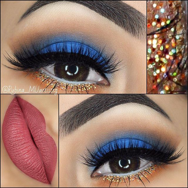 This stunning look by @rubina_muartistry using our Marrakesh shadows is getting ...