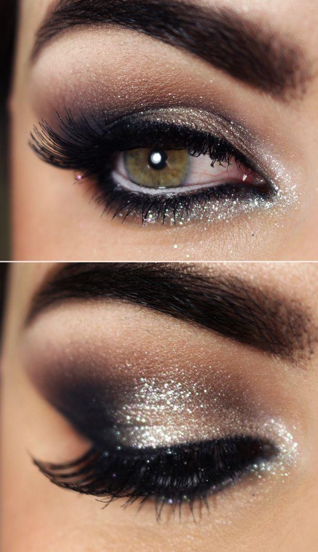 Tutorial – maquiagem com brilho para festas e noivas Makeup Sets amzn.to/2kxgn...