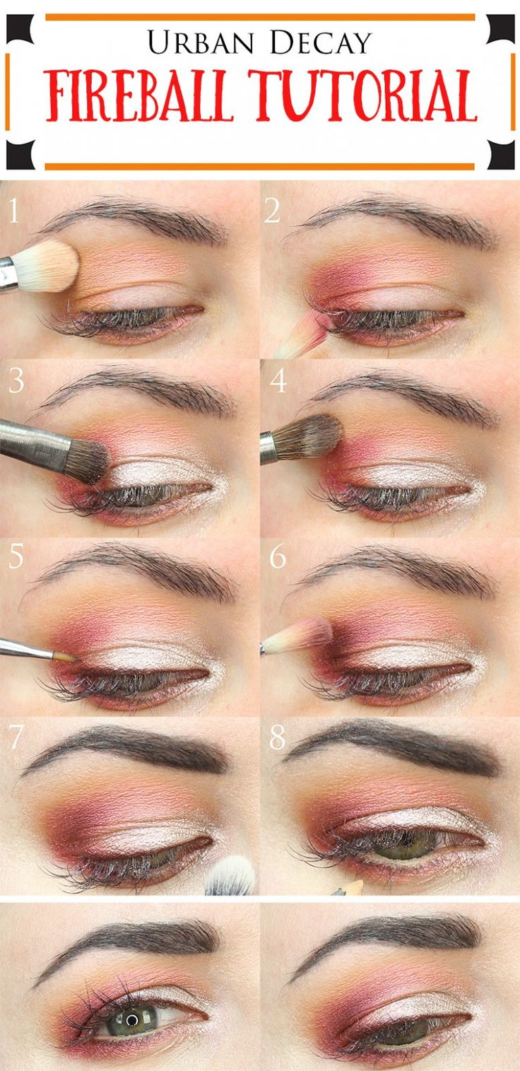 Urban Decay Fireball Tutorial. This is a great duochrome eyeshadow tutorial for ...