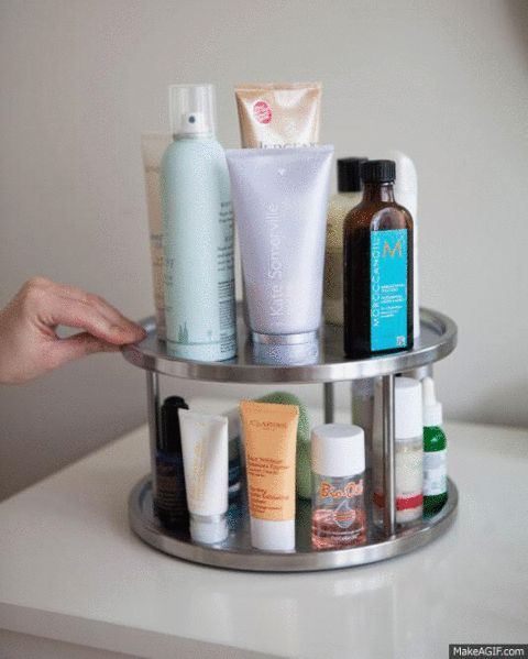 We love our beauty products, but sometimes they cause too much clutter in our ba...