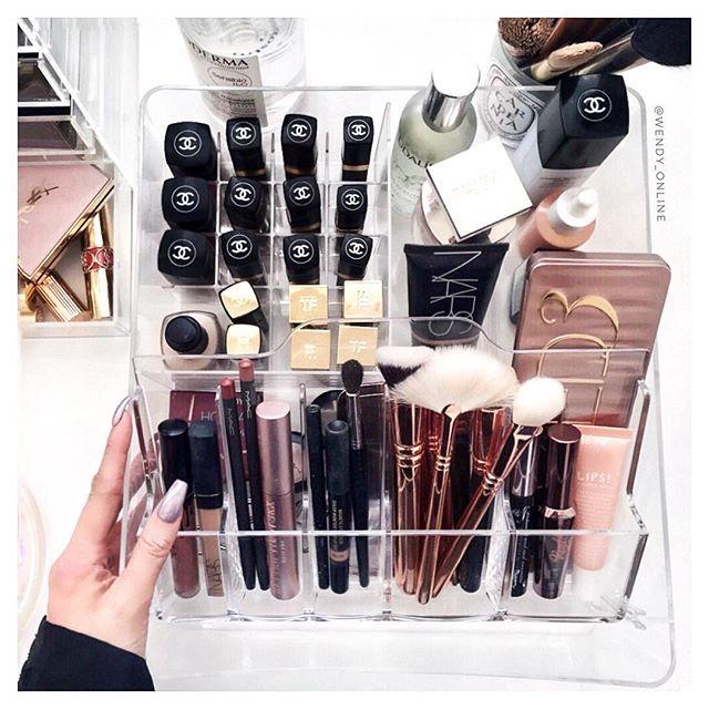 WEBSTA @ wendy_online - $15 makeup storage? Don't mind if I do!  picked up...