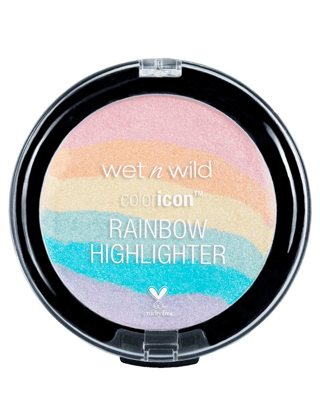 Wet n Wild Goes All Etsy and Drops a ColorIcon Rainbow Highlighter On us By Isab...