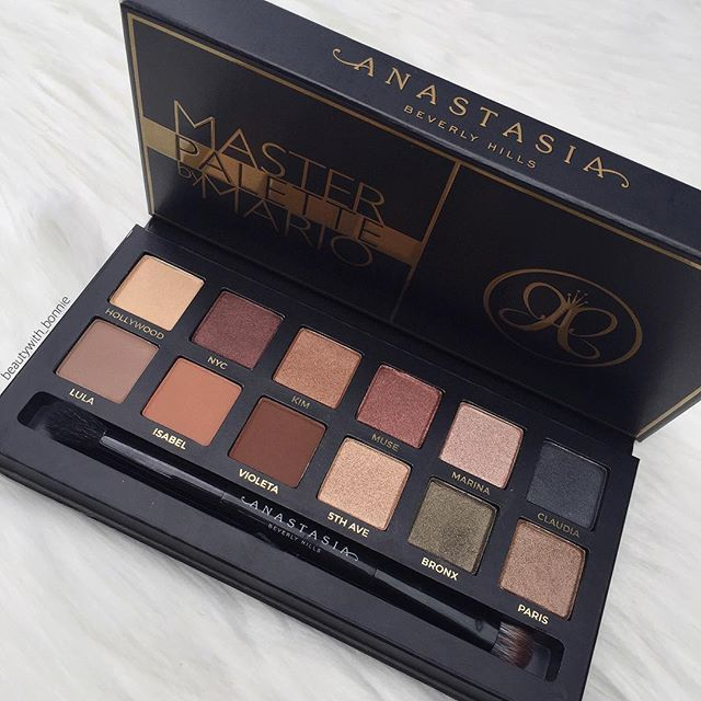 Who else is obsessing over the Master Palette By Mario!? As soon as I picked it ...