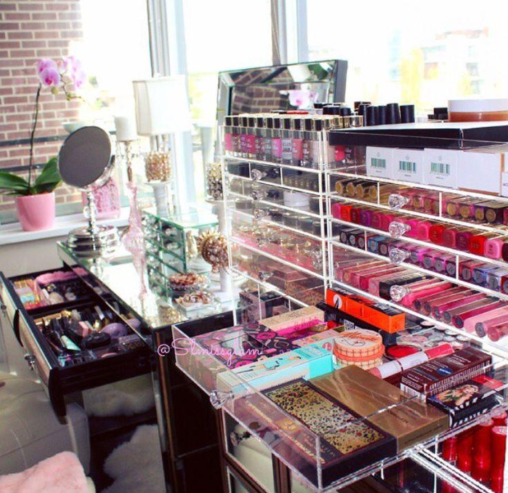 Wow! Talk about beauty organization!