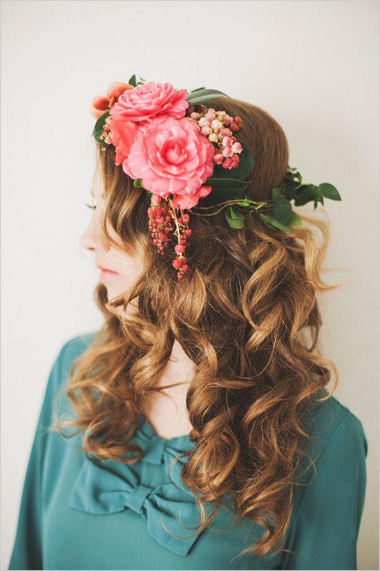 :: floral crown ::