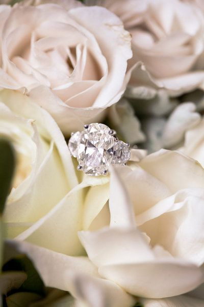 13 Gorgeous 3-Stone Engagement Rings: www.stylemepretty...