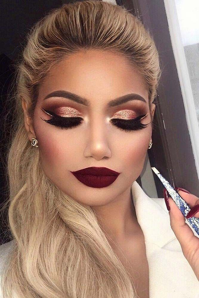 Best Winter Makeup Looks for the Holiday Season ★ See more: glaminati.com/...