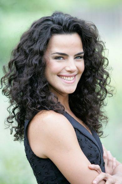 beautiful hair! curly wavy