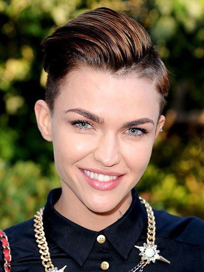 Best 2015 Celebrity Hair Moment - Ruby Rose's short hair at the MTV European Mus...