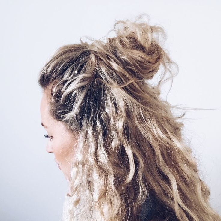 Best Hairstyles For 2017 2018 Curly Hair In A Half Updo