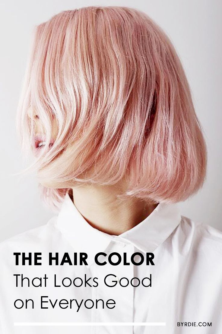 How to dye your hair pink