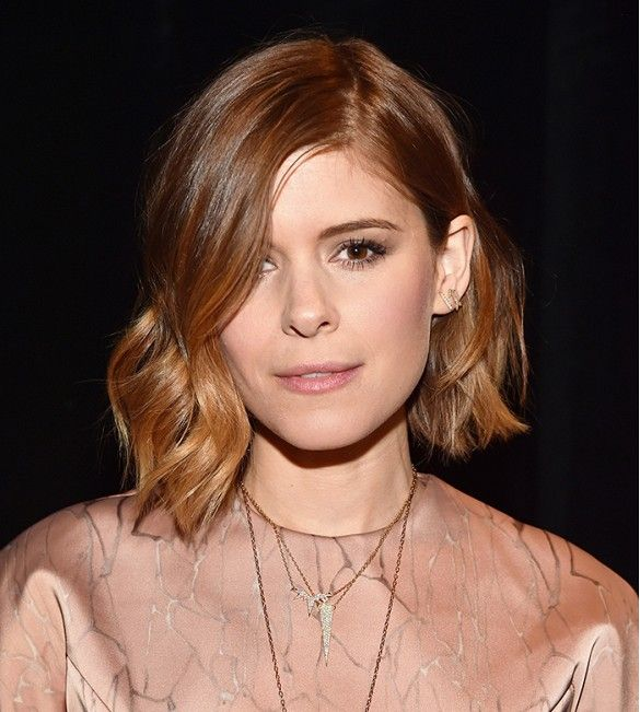 Kate Mara proves short-haired girls can pull of loose waves
