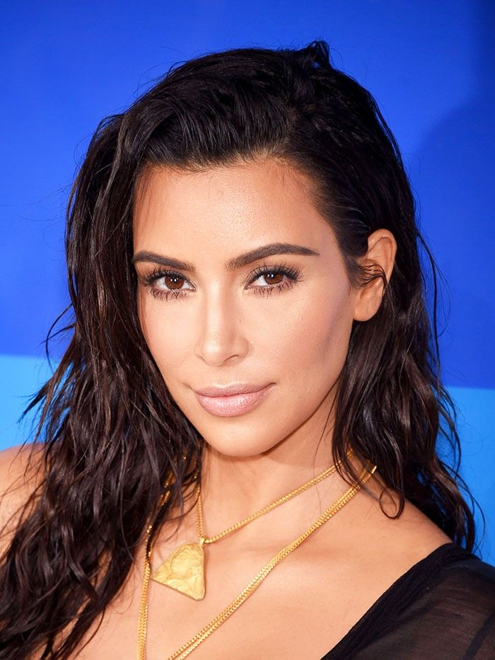 Kim Kardashian West's wet hair look is perfect for summer