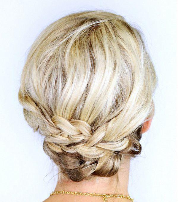 Low-bohemian braids