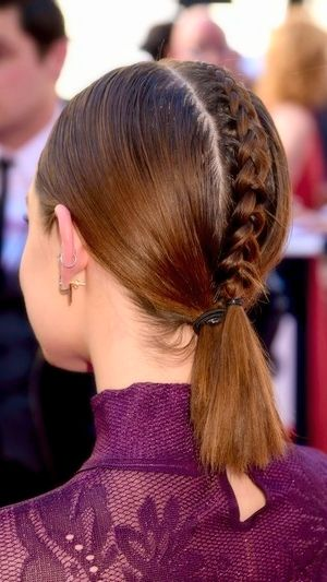 Lucy Hale's baby braidhawk is almost too good to be true