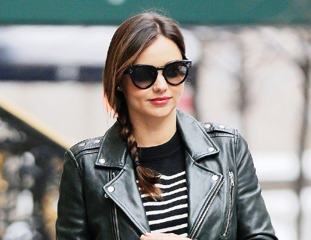 Miranda Kerr proves that even mid-length hair makes for a great side braid