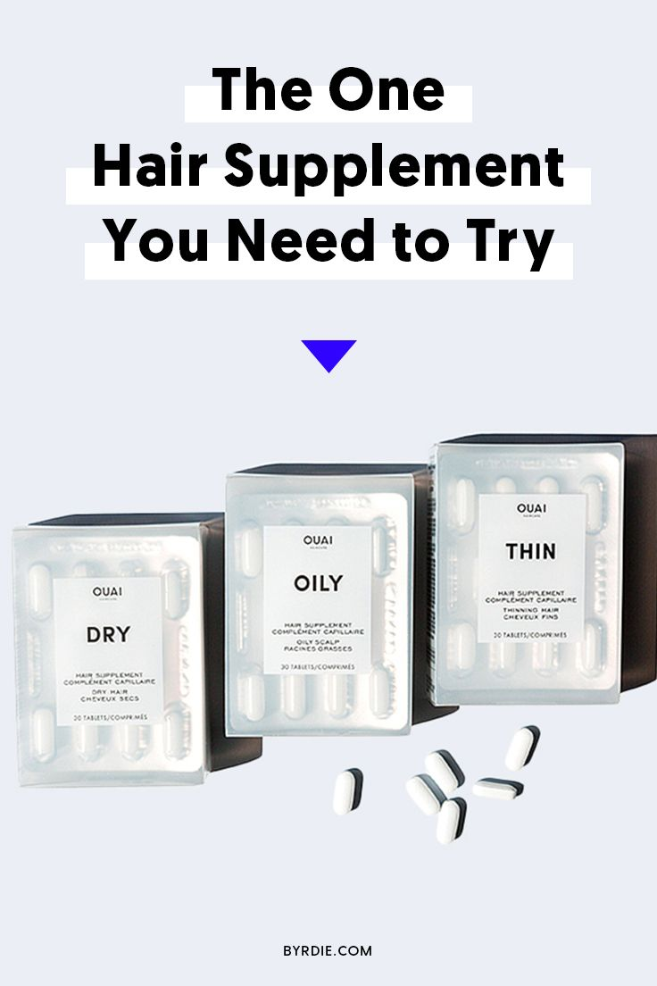 The best supplements for hair growth