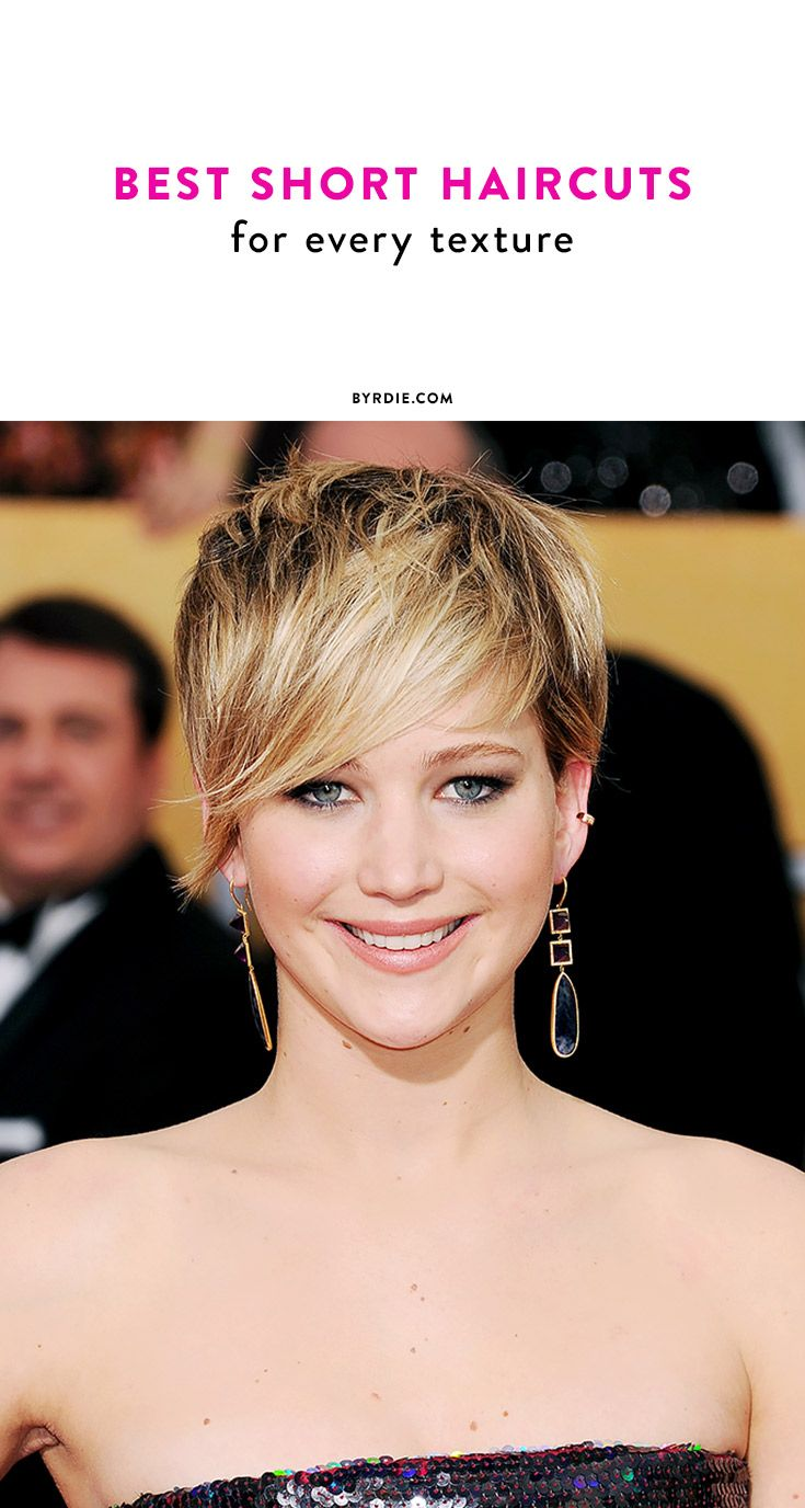 The short haircuts that will work for your hair's texture