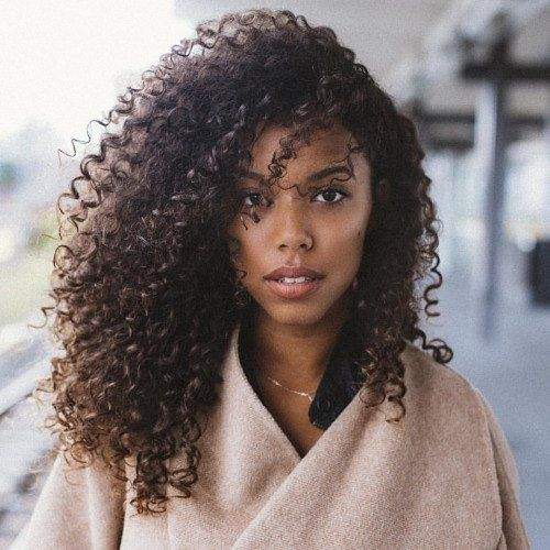 These natural curls are beautiful