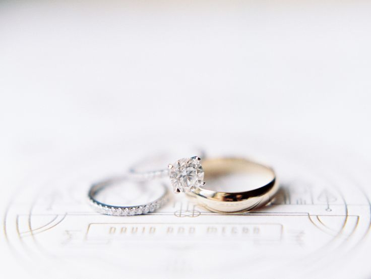 Classic engagement rings: www.stylemepretty... | Photography: Clary Photo - clar...