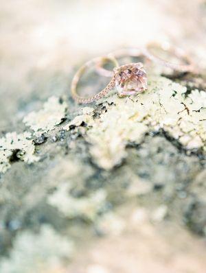 Delicate & beautiful gemstone ring: www.stylemepretty...   Photography: Marcie M...