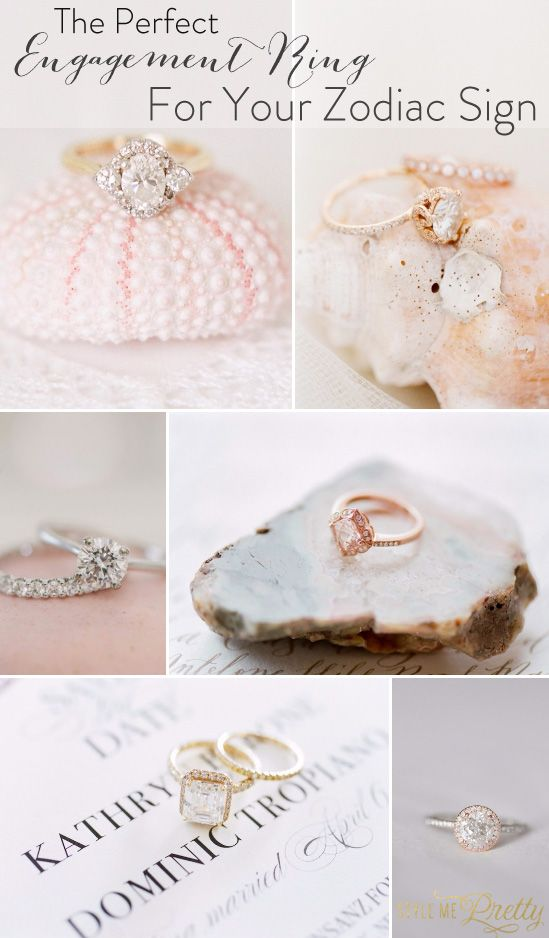 Do you know which engagement ring is the perfect match for your zodiac sign? Fin...
