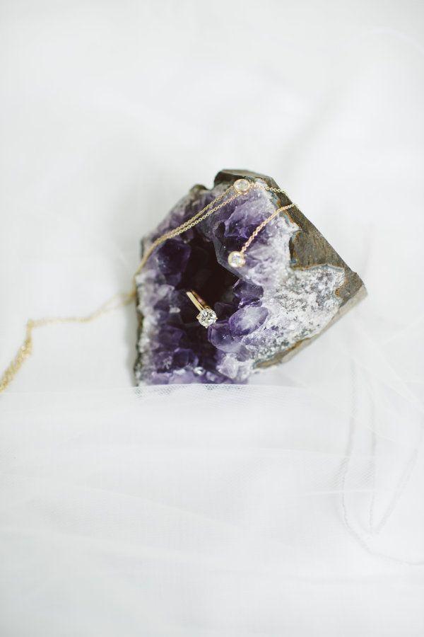 Geode ring box: www.stylemepretty... | Photography: Whitney Krutzfeldt - www.wck...