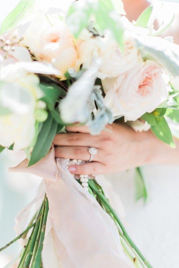 Gorgeous engagement ring shot: www.stylemepretty... | Photography: Blaine Siesse...