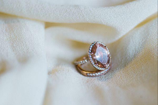 Pink Tourmaline engagement ring: www.stylemepretty...   Photography: Awake Photo...