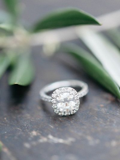 Platinum engagement rings that'll make you ditch gold: www.stylemepretty...