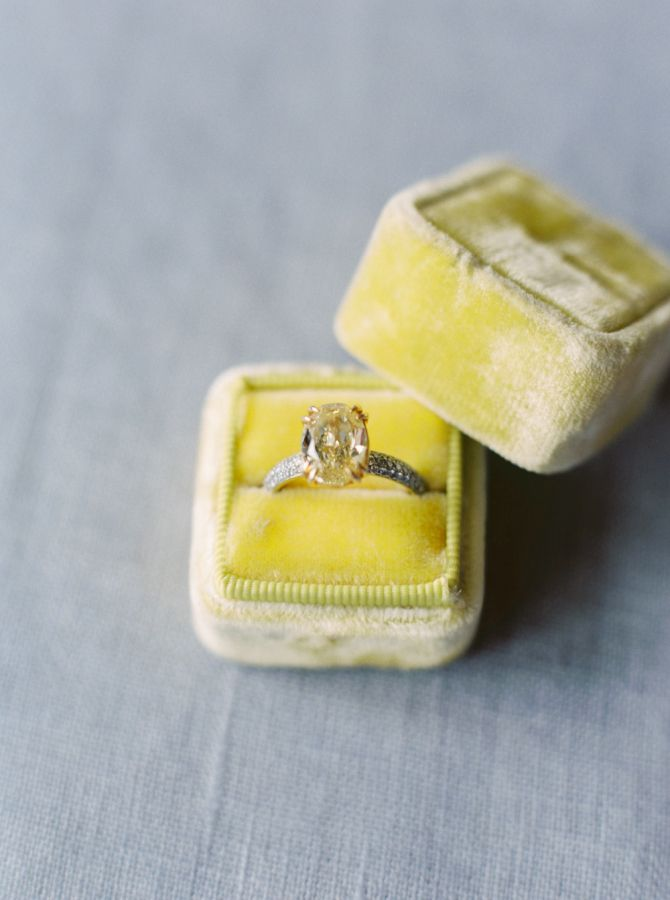 Stunning Canary Diamond: www.stylemepretty... | Photography: Erich McVey - erich...