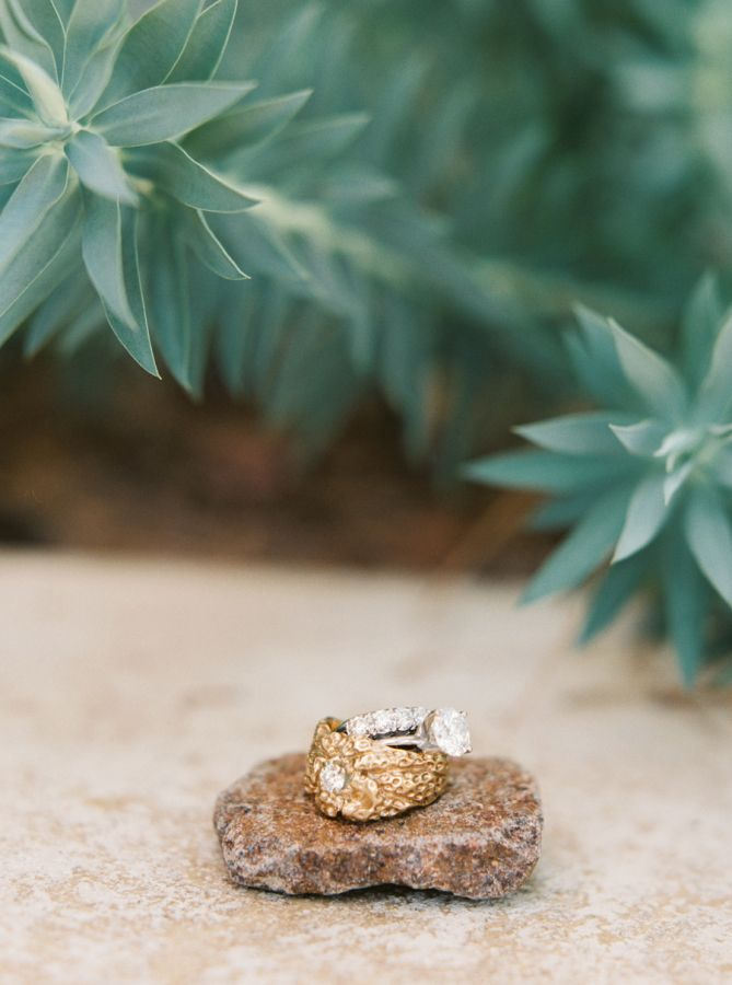 Stunning + unique engagement ring: www.stylemepretty... | Photography: Jessica S...