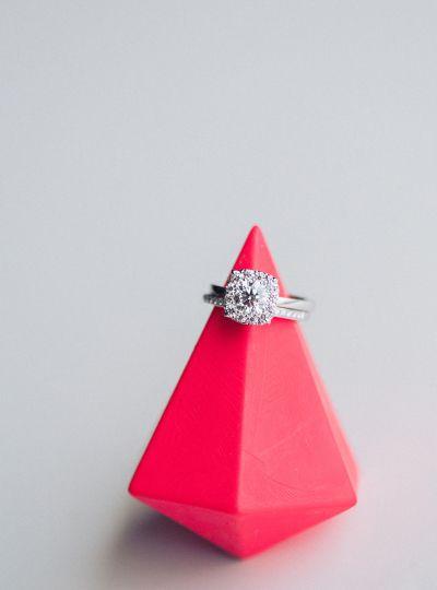 The World's Most Perfectly Cut Diamond: www.stylemepretty... | Photography: Ruff...