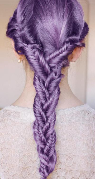 lavender braided