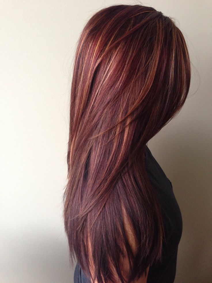 luxe design red rich hair