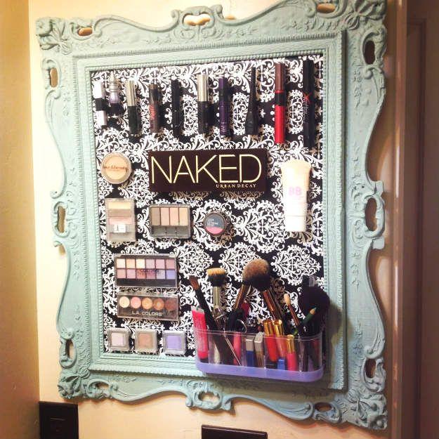 13 DIY Makeup Organizers To Give Your Makeup A Proper HomeFacebookGoogle+Instagr...