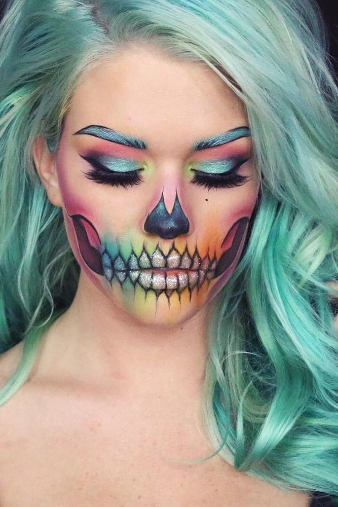 18 Pretty Halloween Makeup Ideas You Ll Love: 18 Pretty Halloween Makeup Ideas