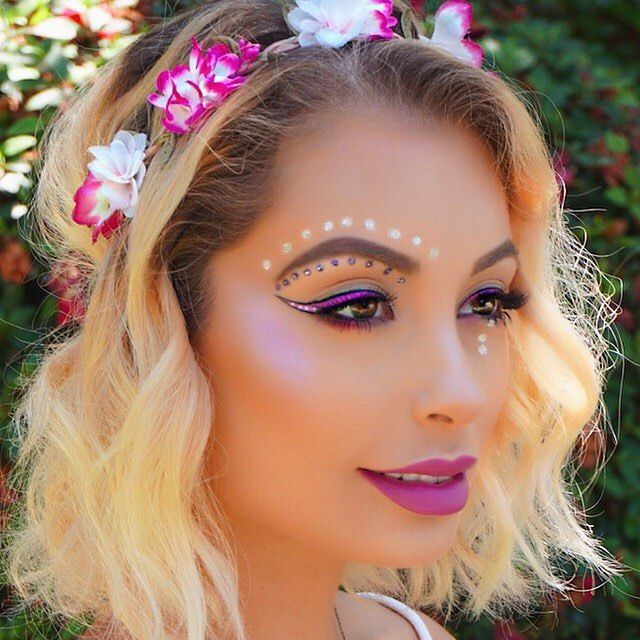 Check out my brand new #coachella makeup tutorial NOW LIVE on my YouTube channel...