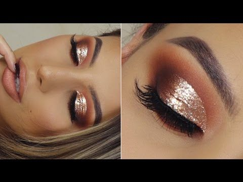 GOLD BOMB AF CUT CREASE TUTORIAL !! She is amazing!!