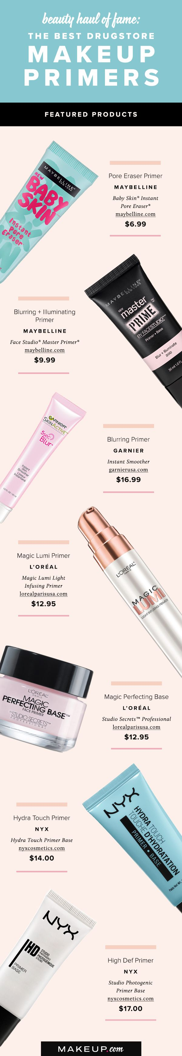 Great makeup application begins with great primer. Follow this shopping guide to...