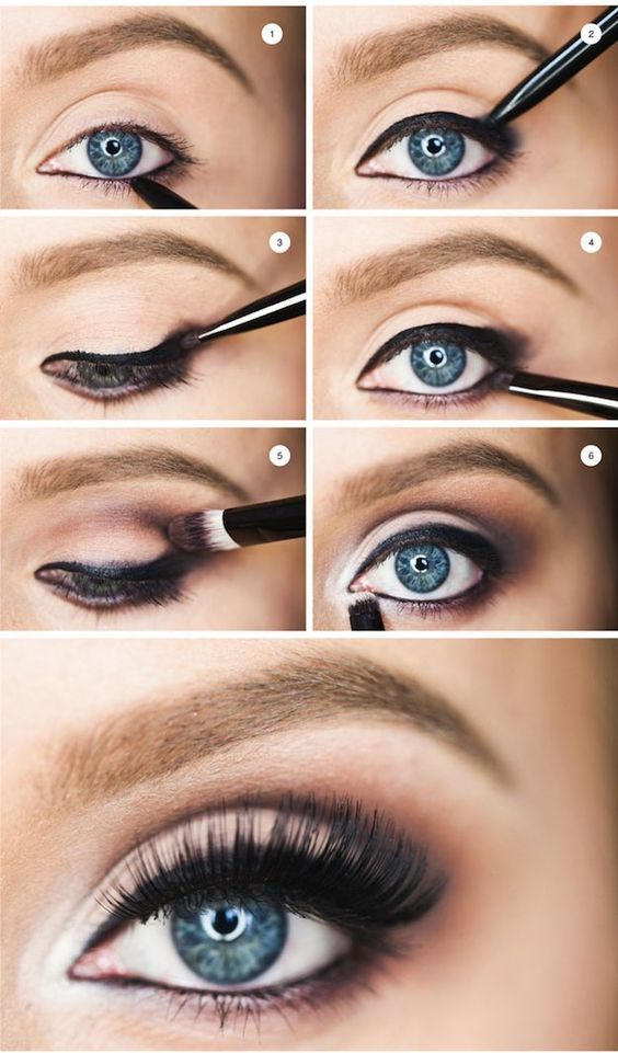 Makeup Tutorials for Blue Eyes -How To Flatter Blue Eyes -Easy Step By Step Begi...
