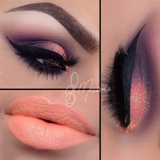 Peach Lips With Shimmery Eyeshadow #coupon code nicesup123 gets 25% off at  Prov...