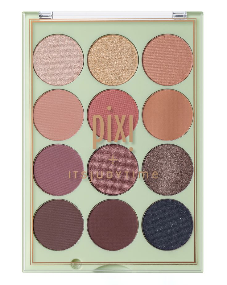 Pixi | Pixi + ITSJUDYTIME Get the Look ItsEyeTime Eyeshadow Palette | Cult Beaut...