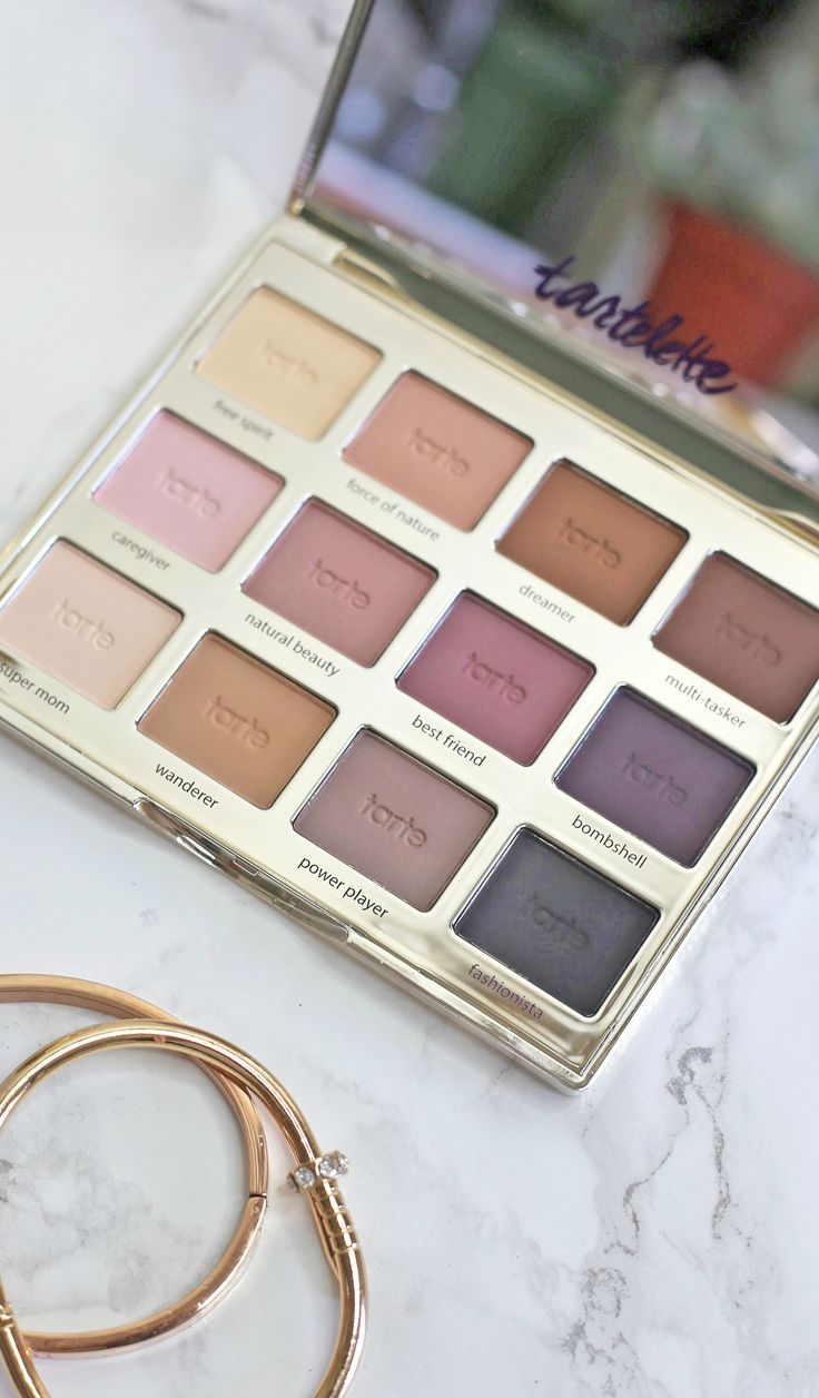 This Tartelette palette contains 12 matte neutral shades.. and you need it in yo...