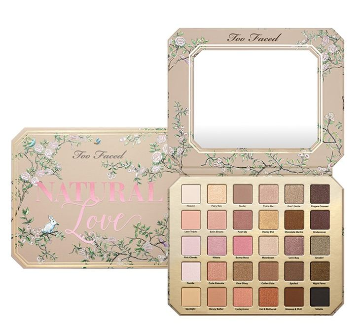 Too Faced Natural Love Eyeshadow Palette ($59) launched at toofaced.com on March...