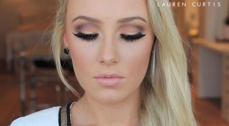 Ultimate Bronze smokey eye by Lauren Curtis. Love her makeup tutorials!