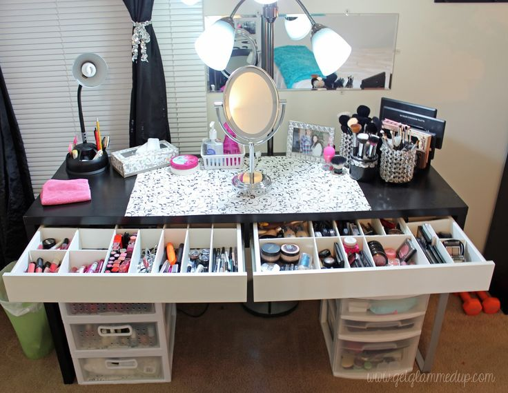 VIDEO: Beauty Room Tour & Updated Makeup Collection: GetGlammedUp