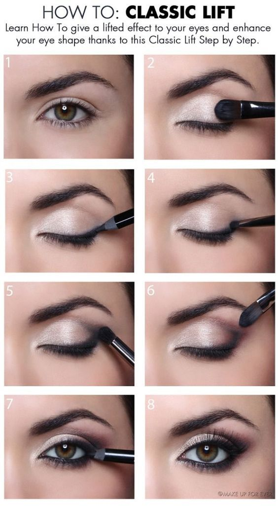 The 11 Best Eye Makeup Tips and Tricks | How to: Classic Lift                   ...
