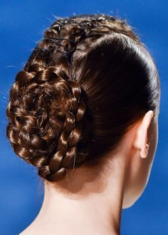 25 Easy Wedding Updos   gorgeous pinned braids Stylecaster
