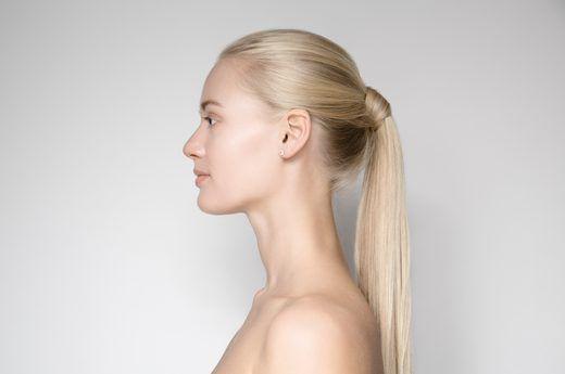 A polished ponytail